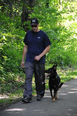 Boot Camp Training with German Shepherds